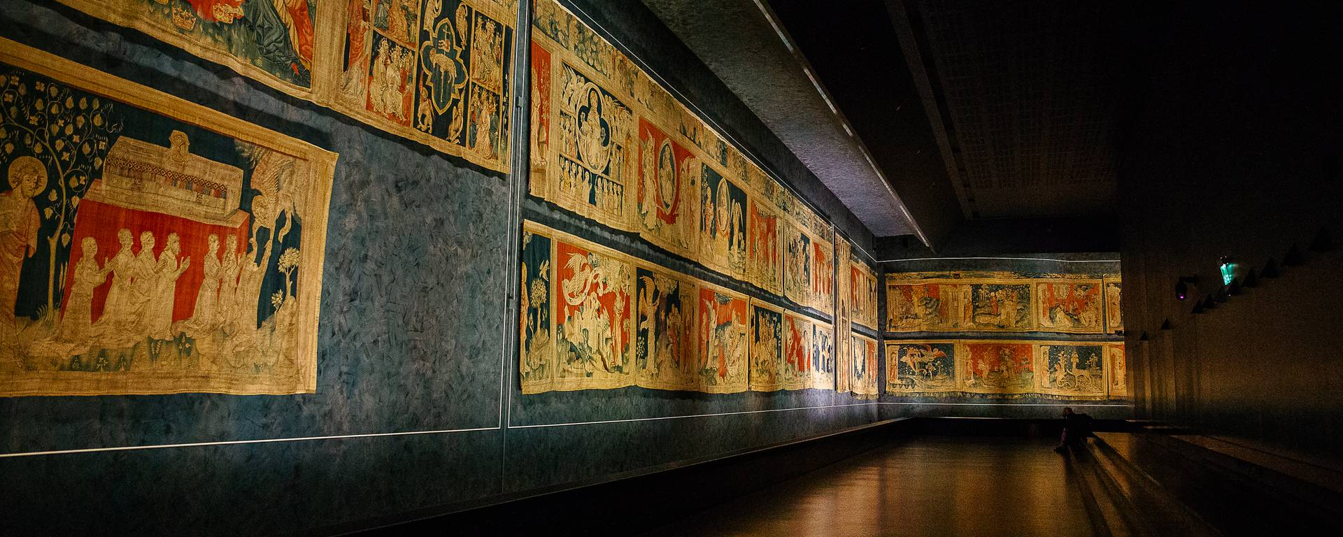 The Apocalypse Tapestry, a monumental work of art at the Château d'Angers © Les Conteurs