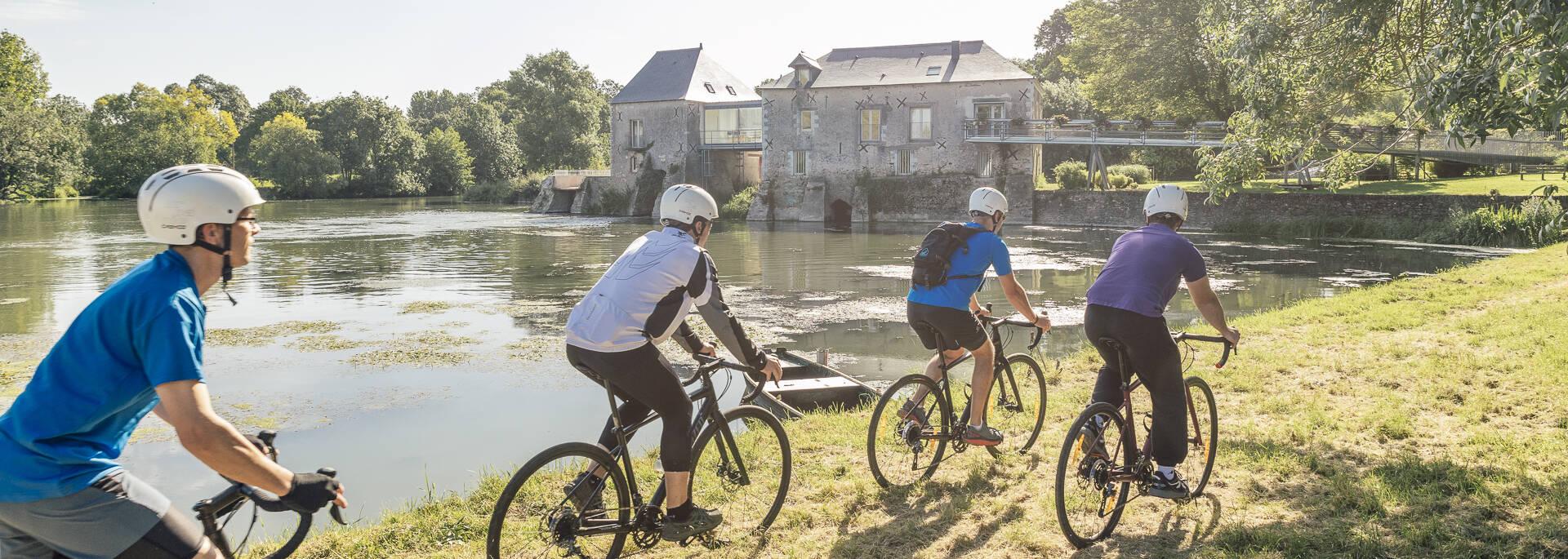 Angers Gravel Tour dans les basses vallées angevines à Rives du Loir en Anjou