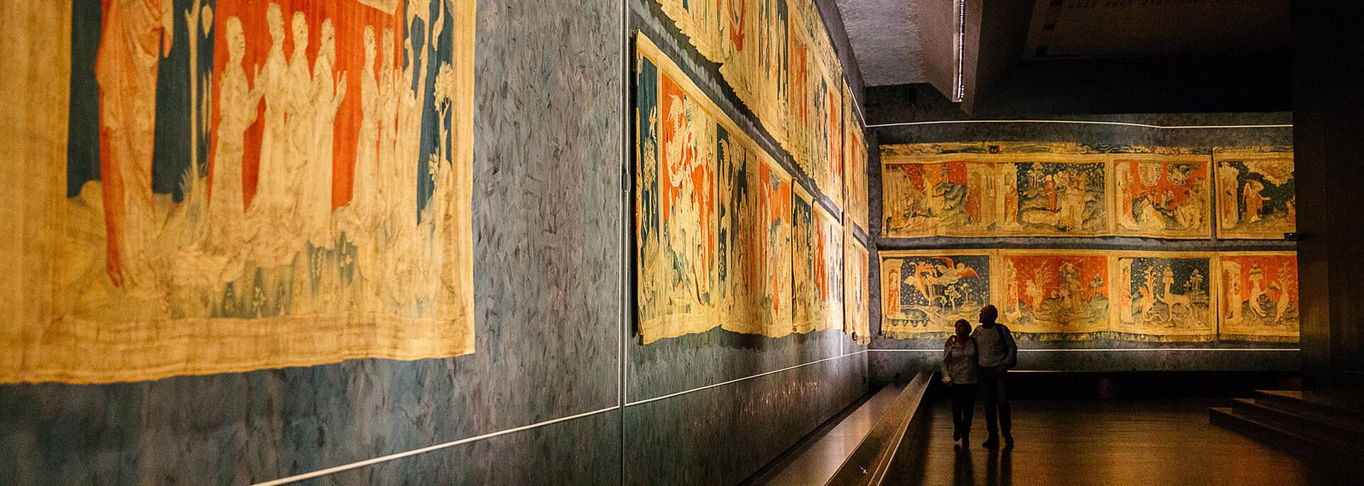La tenture de l'Apocalypse à retrouver au sein du Château d'Angers © les conteurs