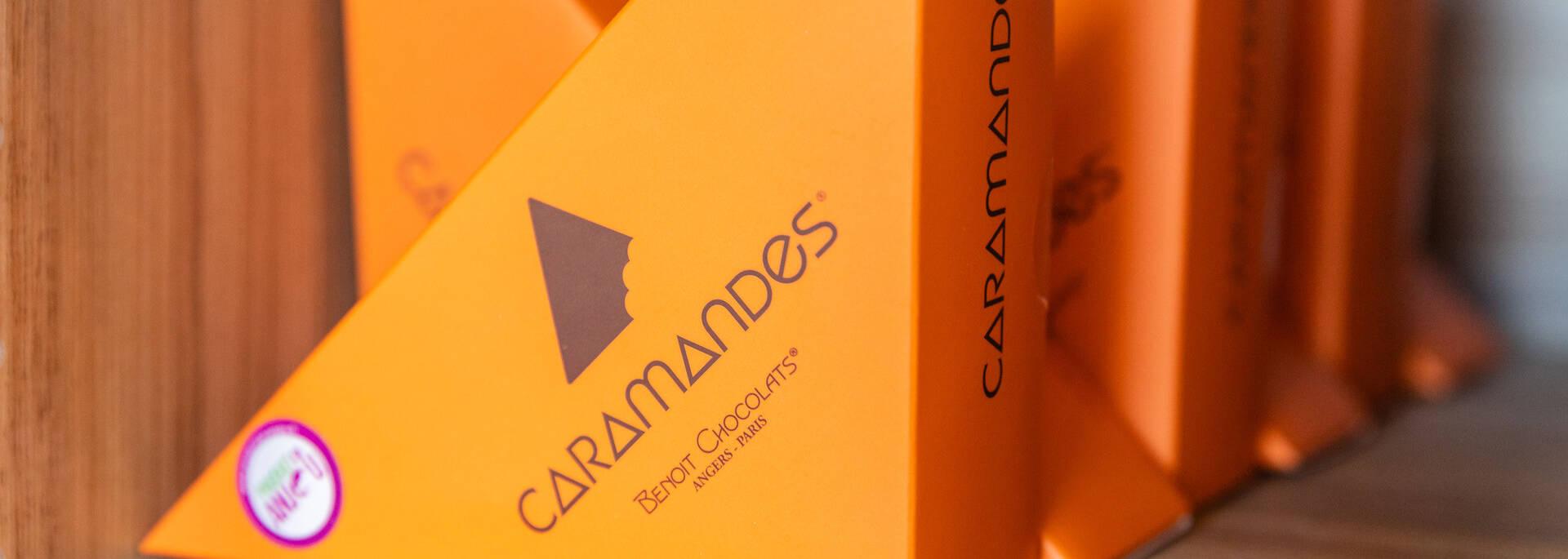 Caramandes - Benoit Chocolats