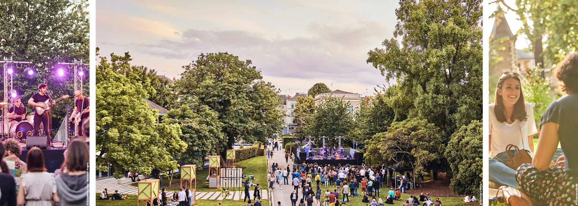 Convivialité et musique au Jardin du Musée des Beaux-Arts