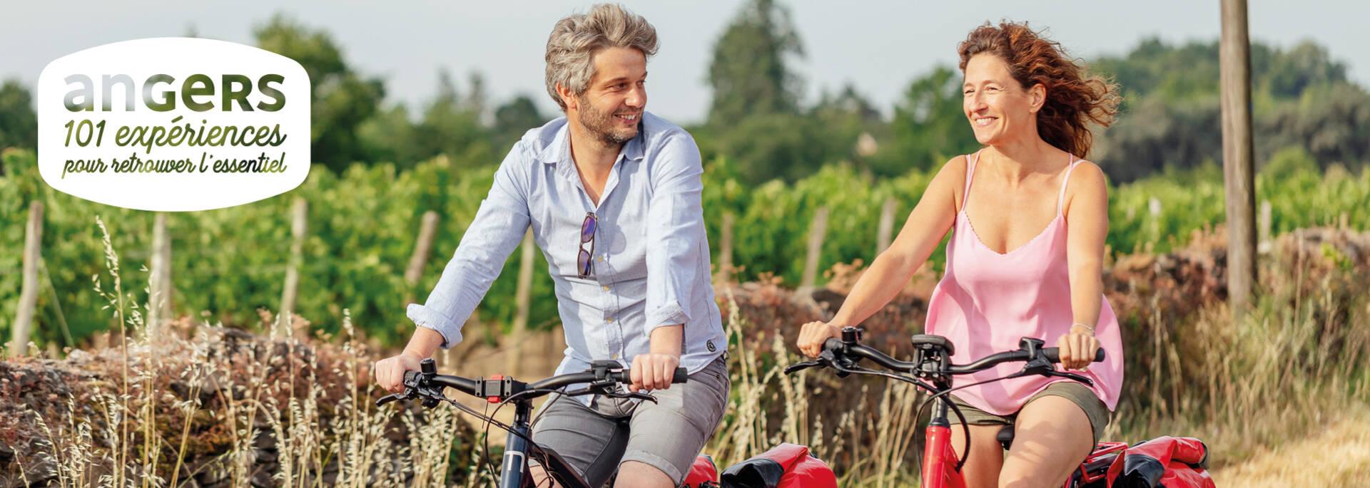 Week-end à vélo dans le vignoble © Christophe Martin