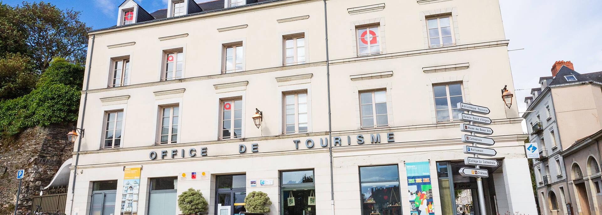 La Oficina de turismo de Angers