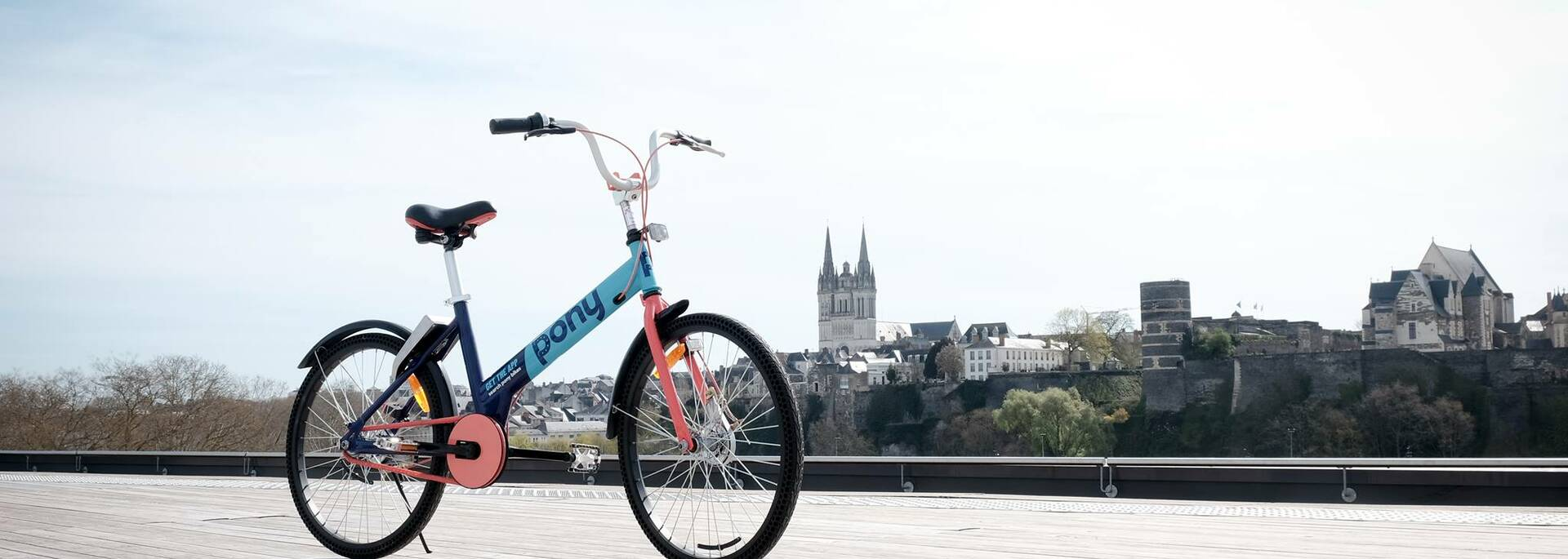 Rent a bike in Angers © Pony Bike