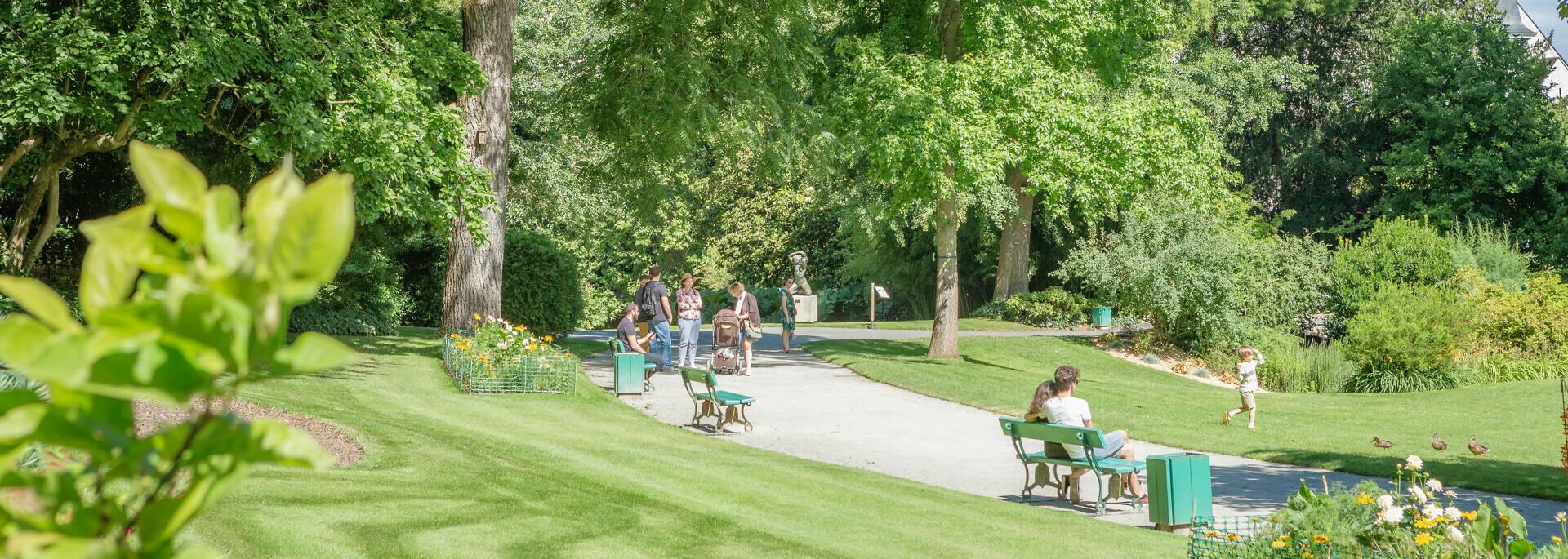 Parcs et jardins d'Angers - Jardin des plantes