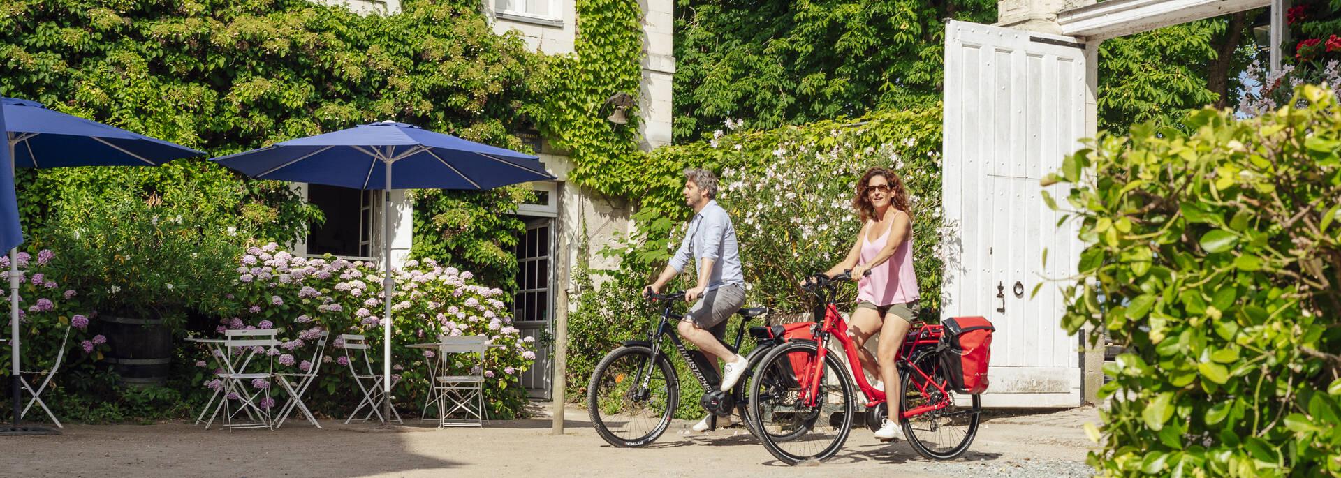 Hébergements pour les cyclotouristes