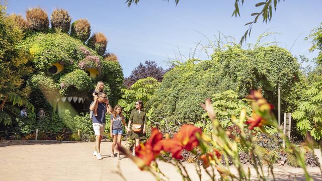 Découverte de Terra Botanica en famille