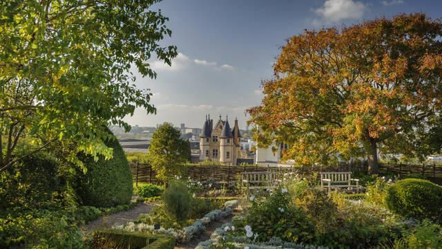 Château d'Angers, les jardins © Angers Connectez-vous