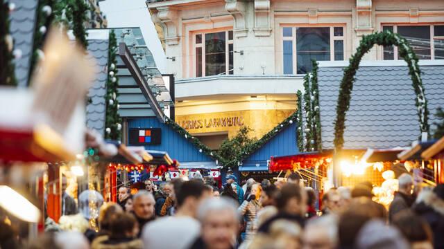 Marché de Noël 2018 à Angers © Christophe Martin