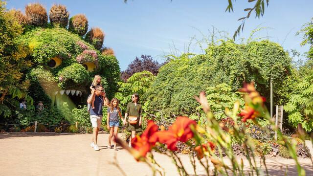 Balade en famille à Terra Botanica