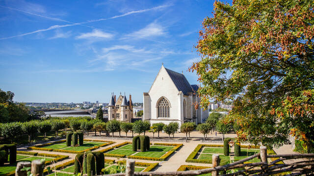 Castillos y patrimonio en Angers © Les Conteurs