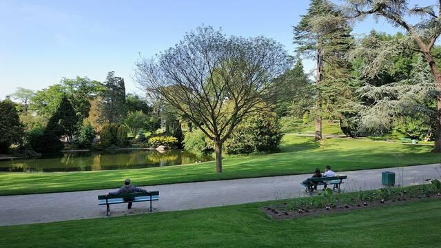 Parques y jardines de Angers - Plantas de jardín © Jean-Sébastien Évrard