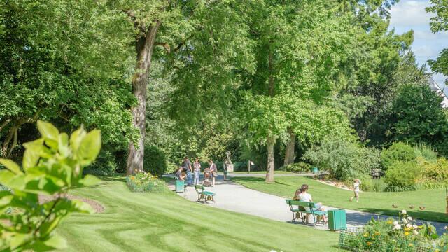 Parques y jardines de Angers
