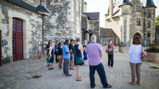 Angers guided tours © Pierre Le Targat