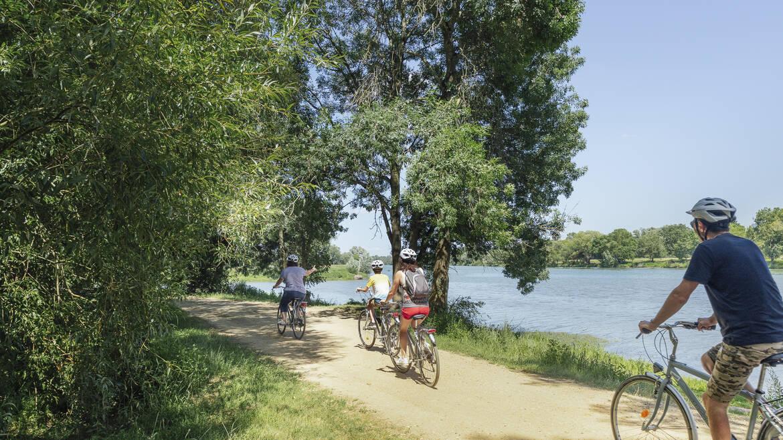 Angers Bike Tour île Saint-Aubin