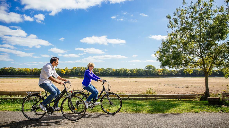 La loire à vélo - Béhuard © Les conteurs