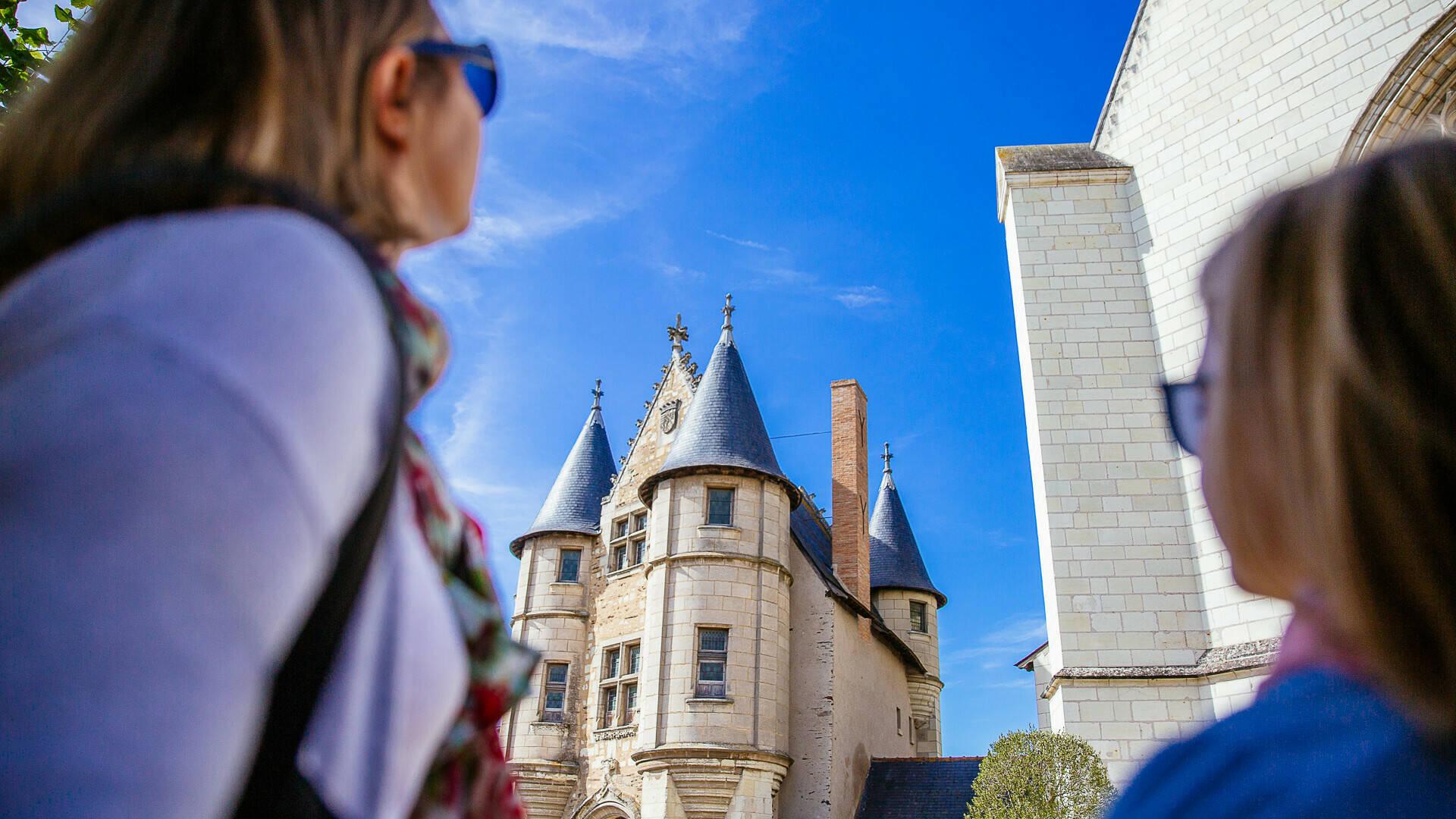 Balade au Château d'Angers en famille