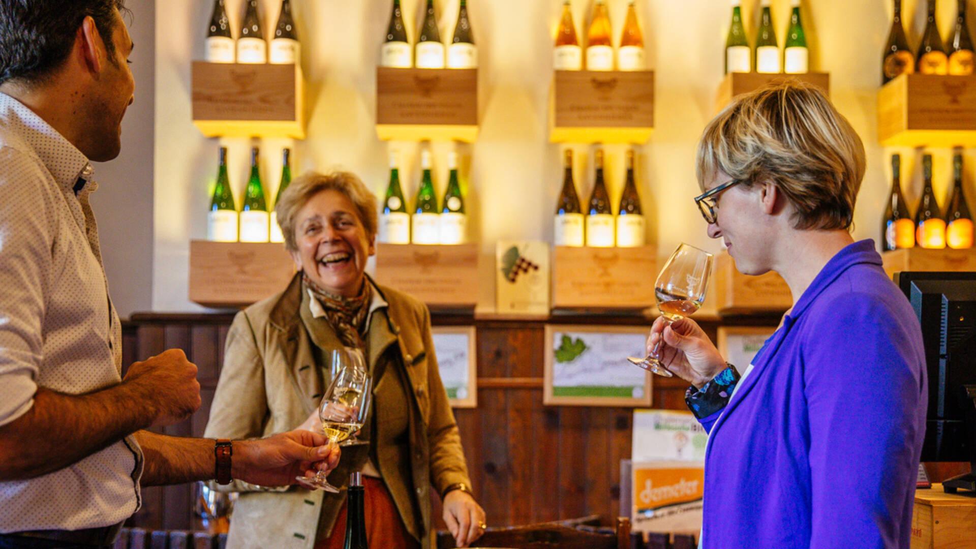 Dégustation de vin au Domaine du Closel