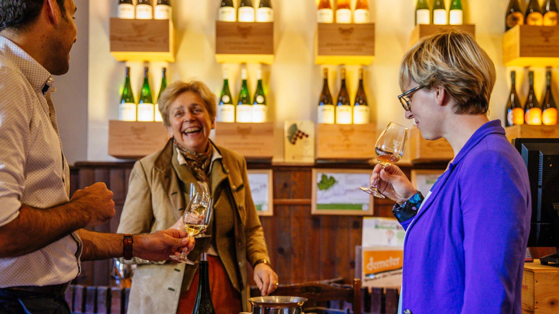 Dégustation de vin au Château de Vaults Domaine du Closel