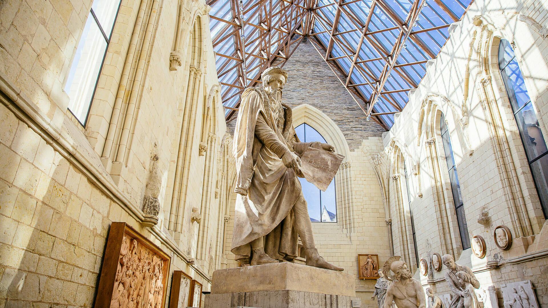 Visite du musée David d'Angers