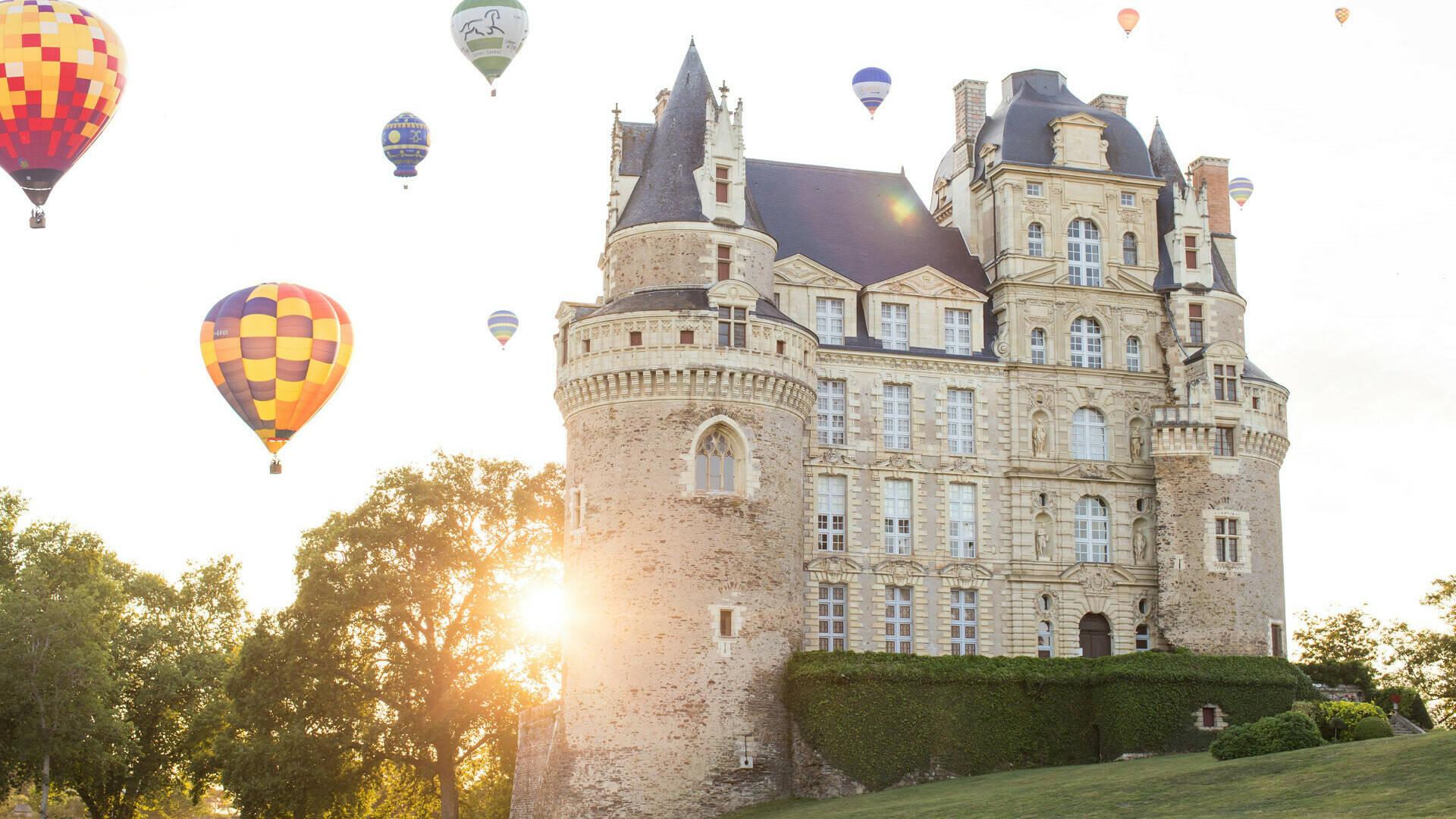 Montgolfière au Château de Brissac