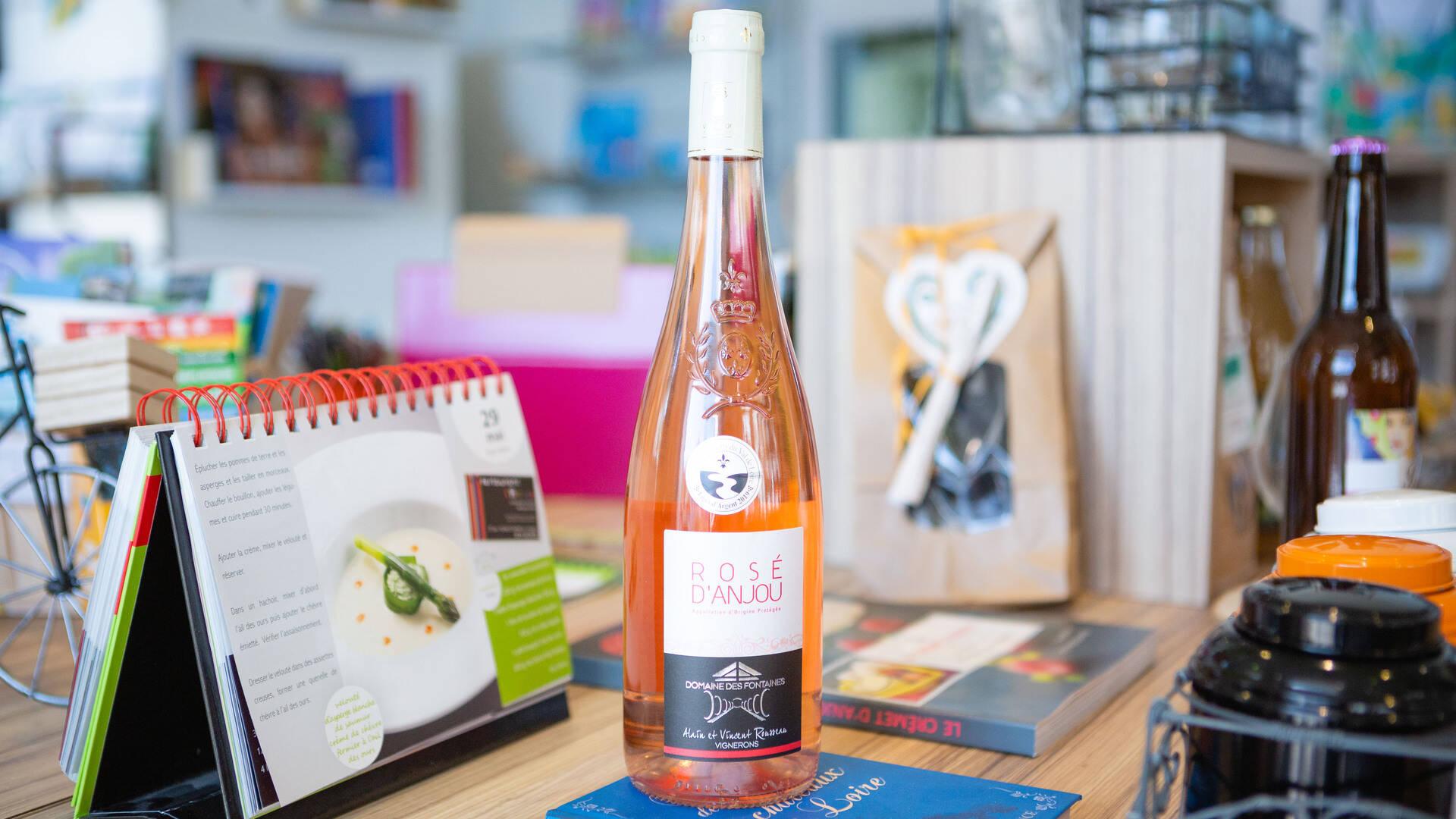 Vin rosé d'Anjou