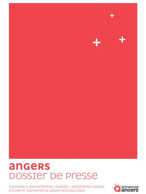 Dossier de presse, saison estivale 2020, Angers