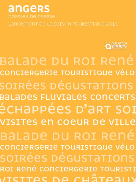 Dossier de presse - lancement de la saison touristique 2018