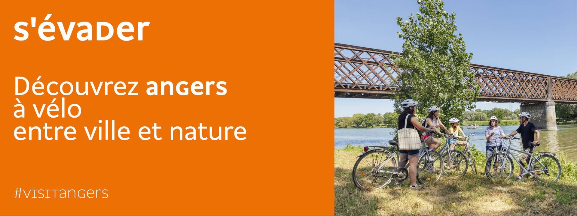Visite guidée Angers Bike Tour