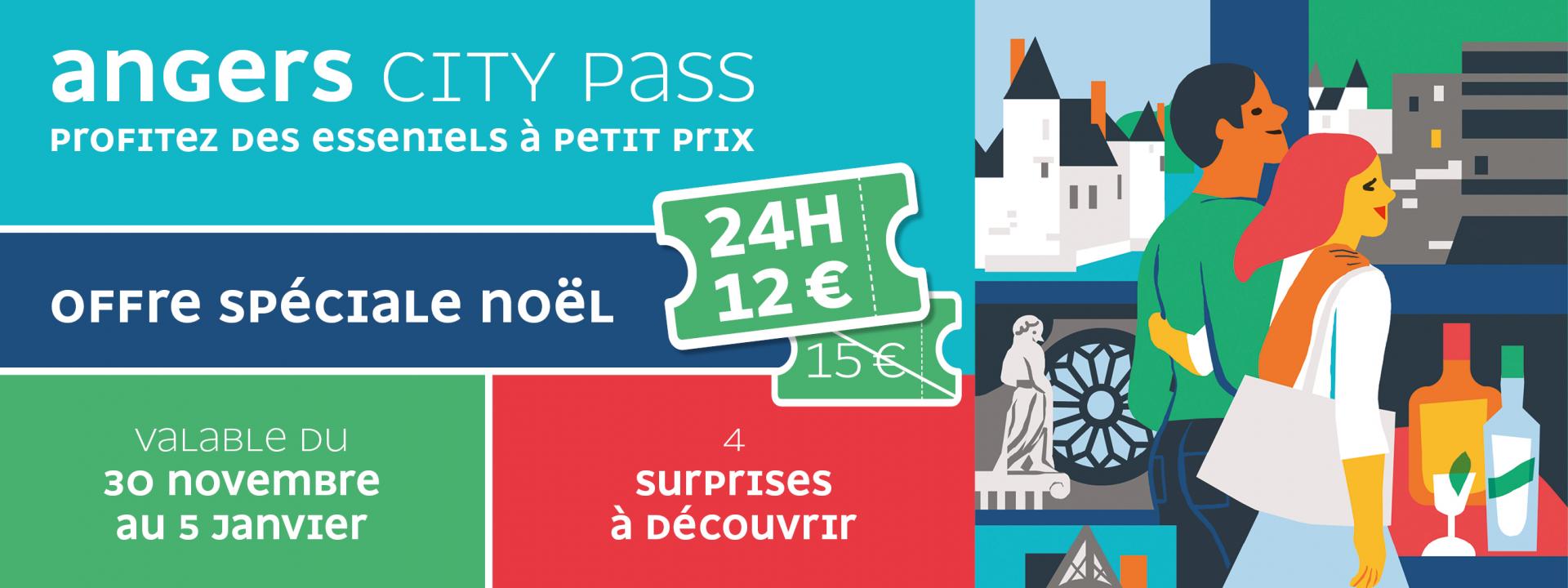 Promotion Angers City Pass de Noël