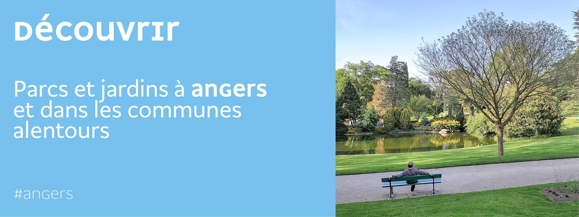 Parcs et jardins d'Angers