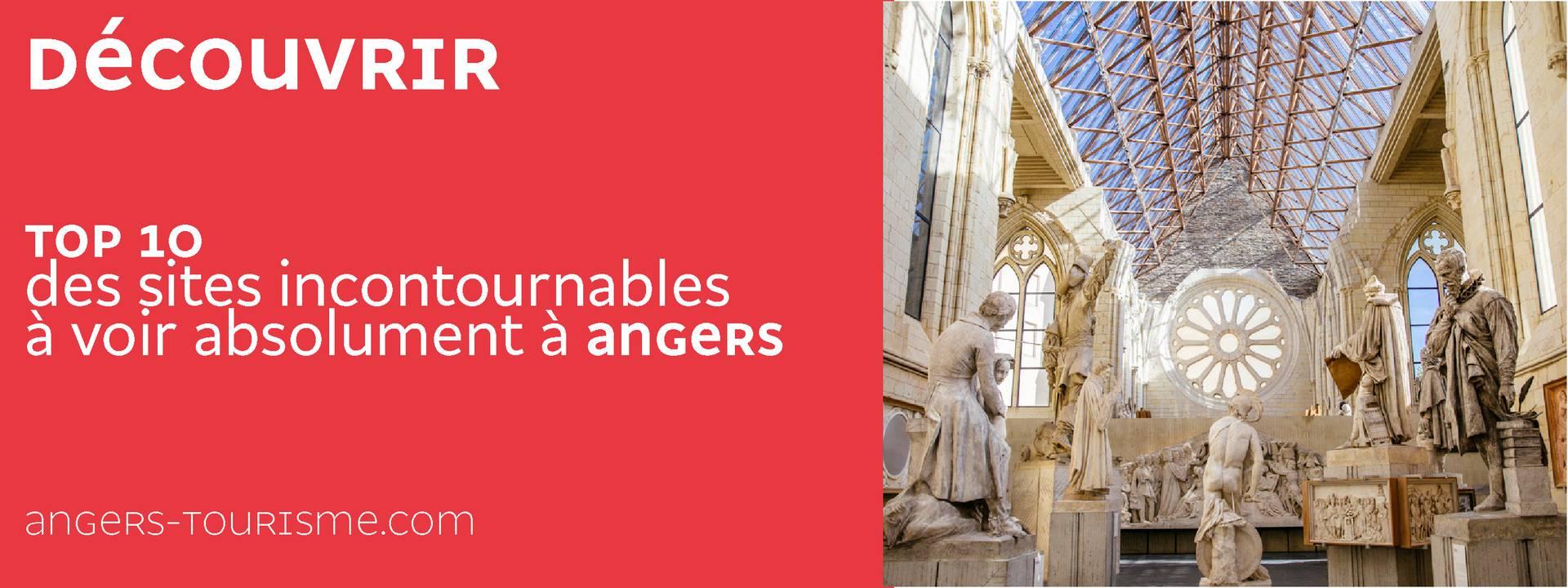 Top 10 des sites à visiter à Angers
