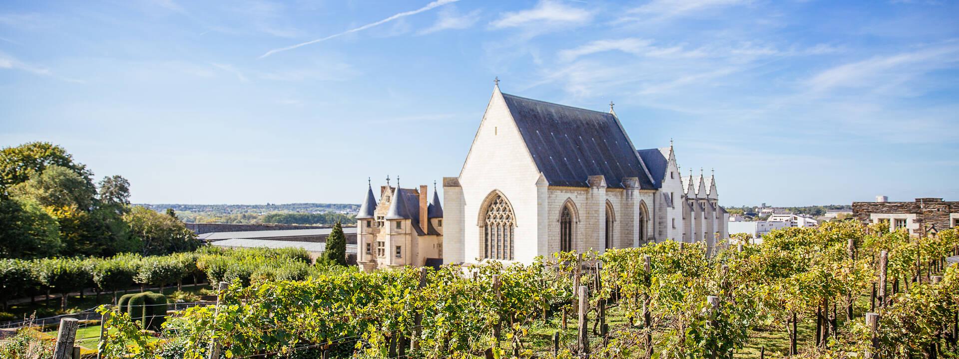 Flânez à la découverte des châteaux à Angers