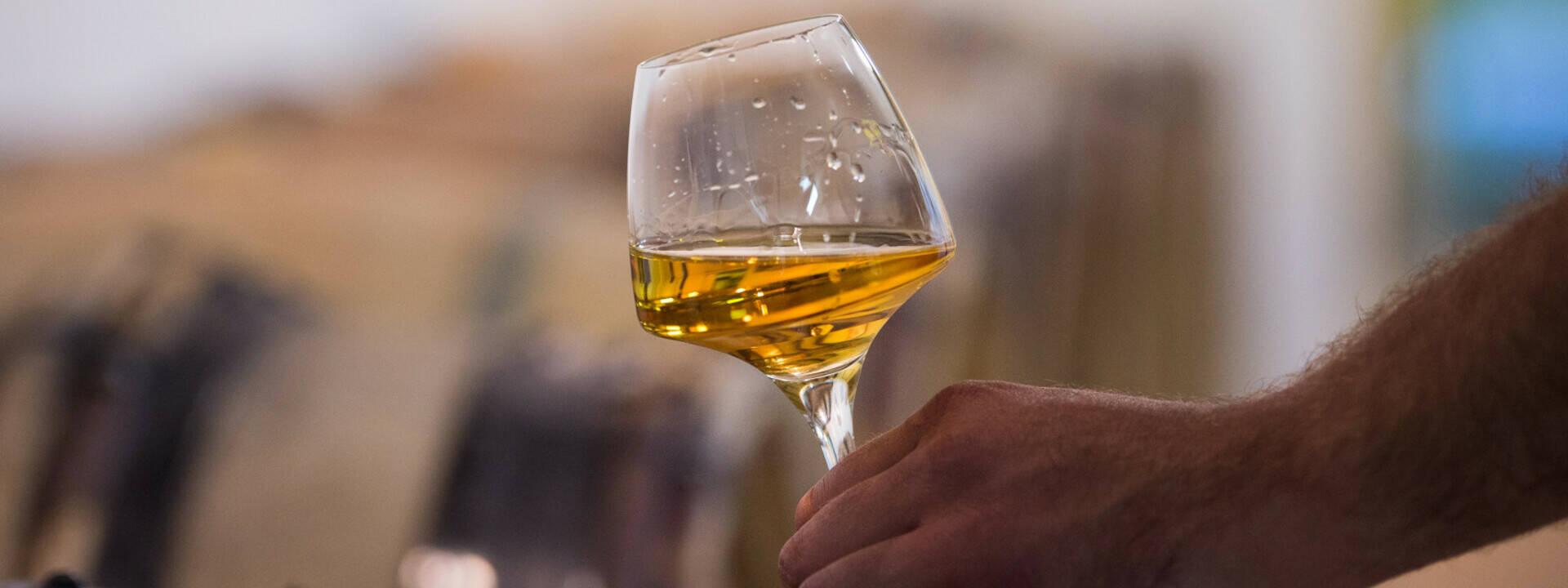 Verre de vin, coteaux du Layon