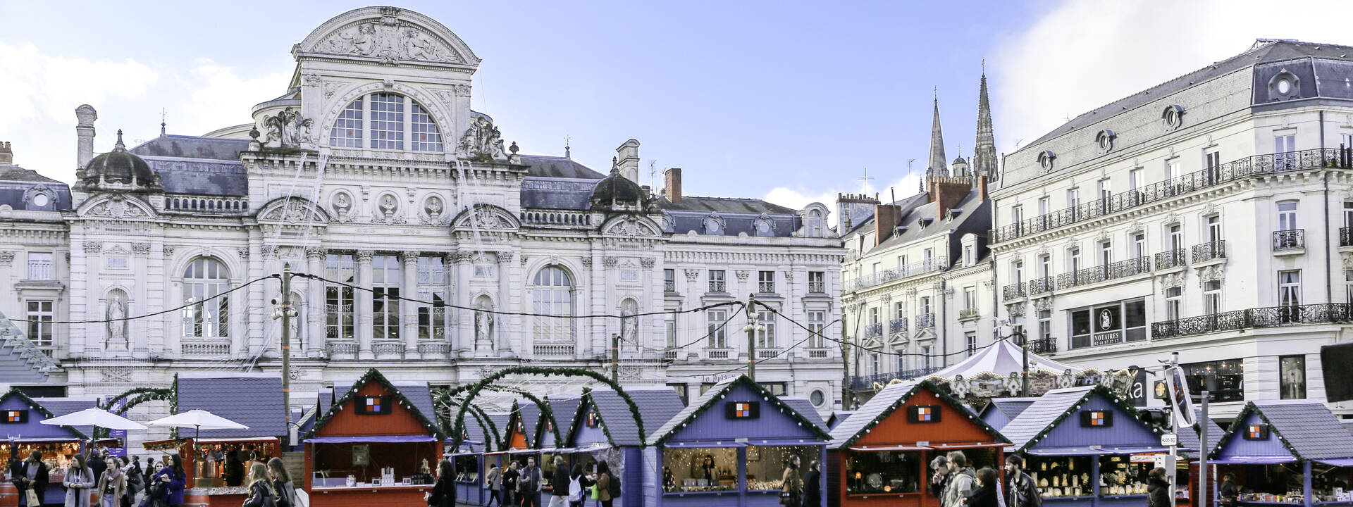 Christmas spirit in Angers