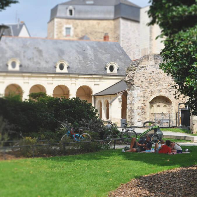 Jardin des Beaux-Arts Angers © Maëlle Barrault
