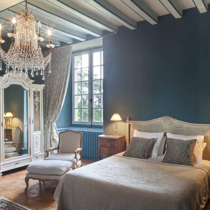 Chambre au château de l'Épinay - Angers © Jean-François Dréan