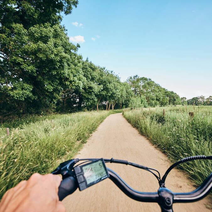 Balade à vélo près aux portes d'Angers