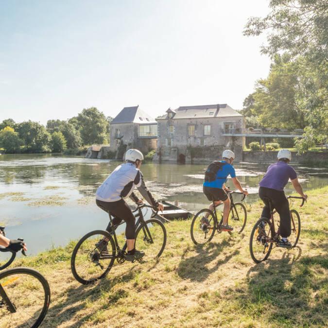 Week-end vélo Angers - idée cadeaux © Christophe Martin