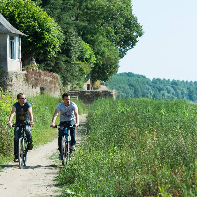 Loire à vélo - Bouchemaine - la Pointe © Patrice campion