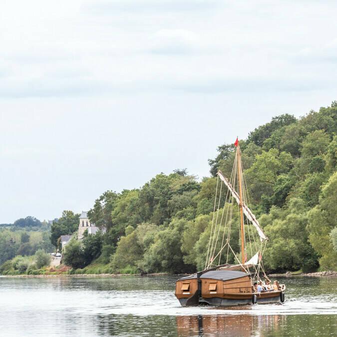 Balade sur la Loire sur un bateau Loire Odyssée