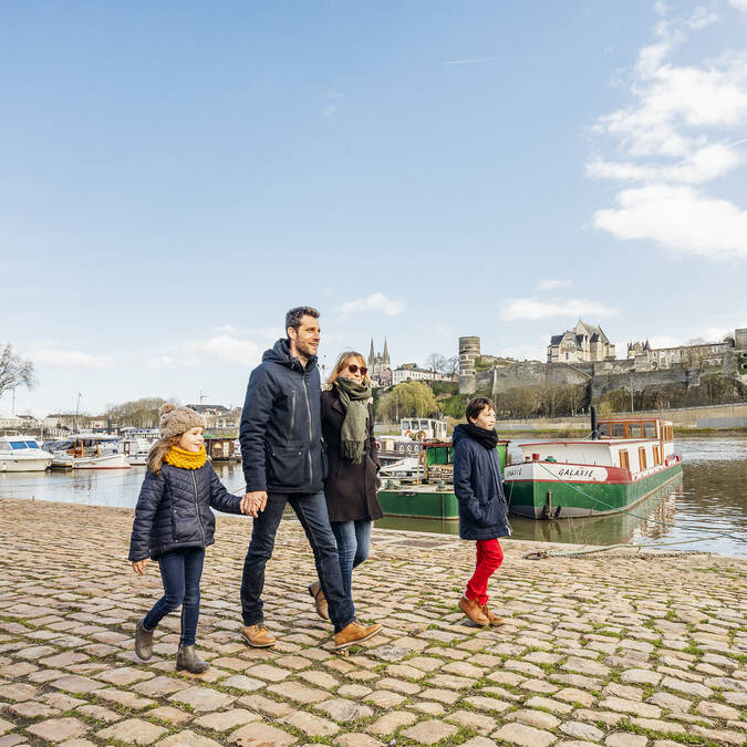 Balade en famille à Angers