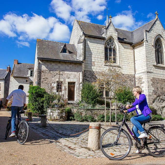 Loire à vélo Angers Béhuard  © Les conteurs