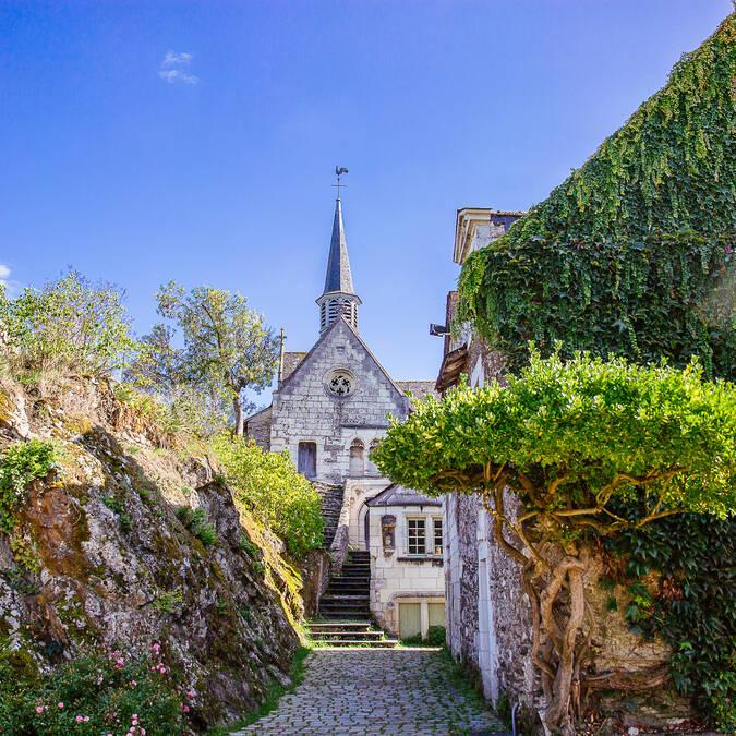 Béhuard chapel © Les Conteurs