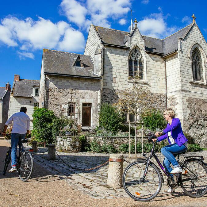 Balade à vélo sur l'île de Behuard