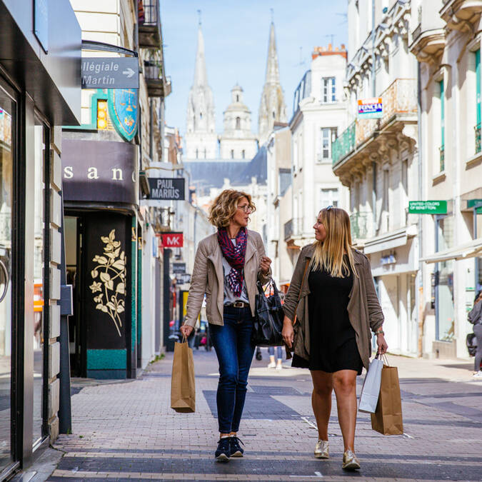 Rue Saint-Aubin Angers