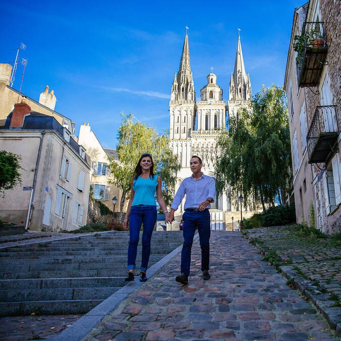 le charme d'Angers - Cathédrale Saint-Maurice © les conteurs
