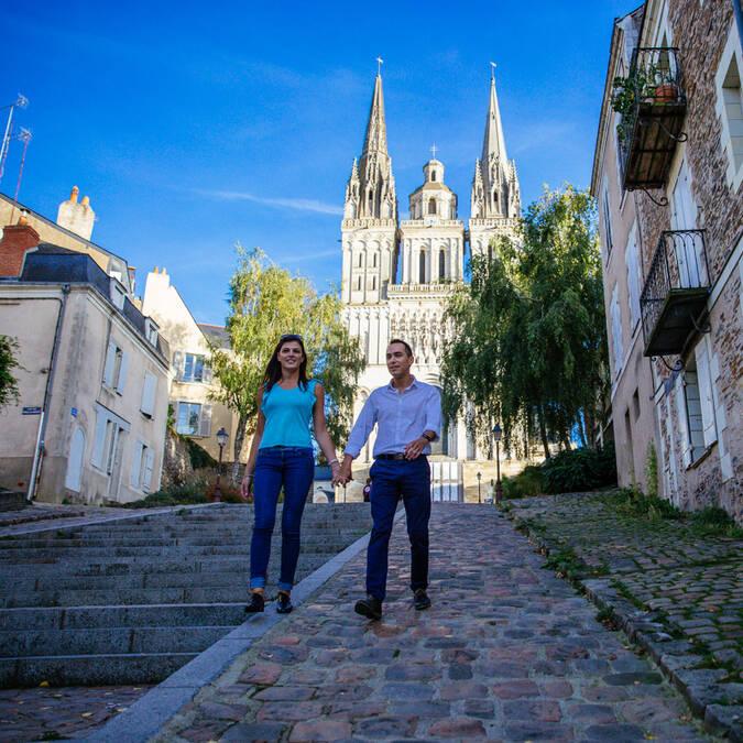 Visite du centre historique d'Angers © Les Conteurs