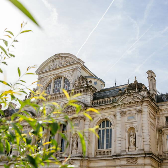 Grand théâtre de la place du Ralliement à Angers