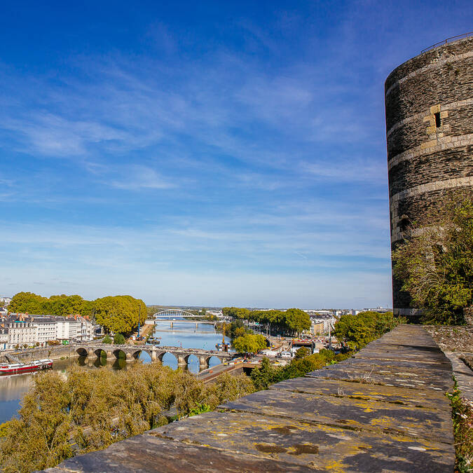 View from Angers Castle © Les Conteurs